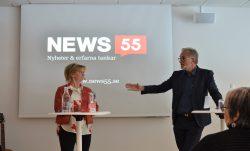 Marianne Rundström på seniormässa i Karlstad.