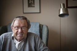 Arne Weise på sin 80-årsdag.