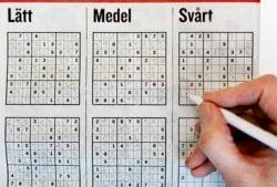Här kommer ett nytt sudoku