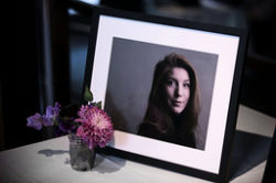 Journalisten Kim Wall. Arkivbild