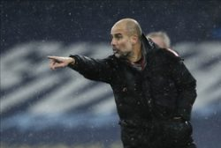 Manchester Citys manager Pep Guardiola. Arkivbild.